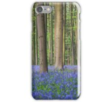 Bluebell wood of Hallerbos iPhone Case/Skin