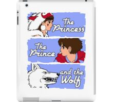 The princess, the prince and the wolf iPad Case/Skin