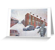 Ghost Walk Down Princes Road Greeting Card