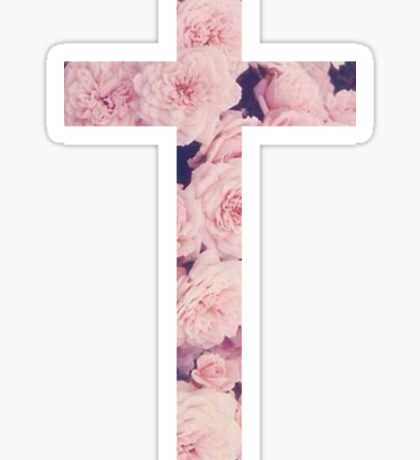 Christian Cross Sticker