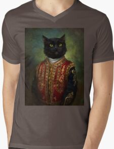 Hermitage Court Moor in casual uniform  Mens V-Neck T-Shirt