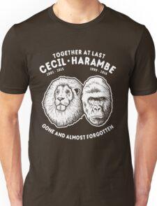 Cecil Harambe Memorial T-Shirt Unisex T-Shirt