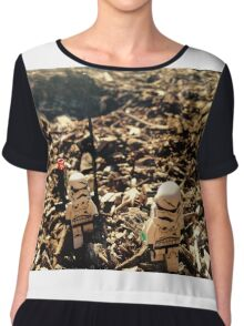 Lego Star Wars Stranded Stormtroopers Minifigure  Chiffon Top