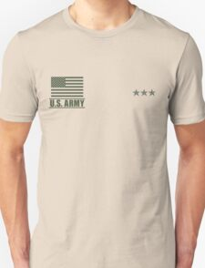 Lieutenant General Infantry US Army Rank by Mision Militar ™ Unisex T-Shirt