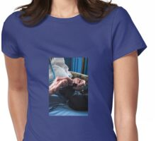 KNITTING Womens Fitted T-Shirt