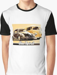 One Spirit - Beetle & Bus Graphic T-Shirt