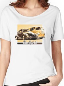 One Spirit - Beetle & Bus Women's Relaxed Fit T-Shirt