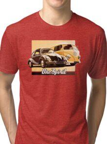 One Spirit - Beetle & Bus Tri-blend T-Shirt