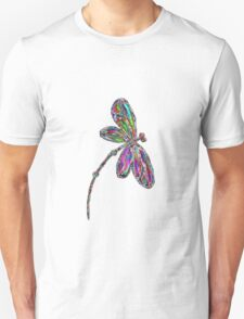 Dragonfly  Neon  Unisex T-Shirt