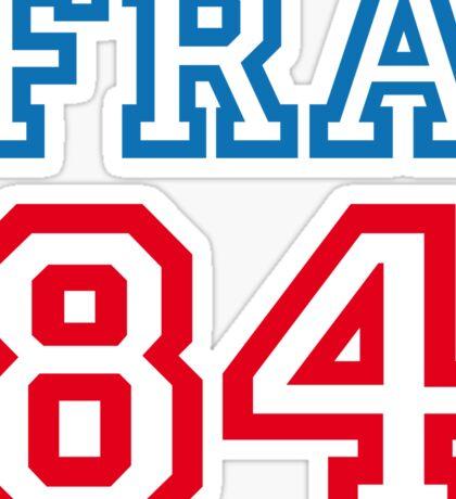 FRANCE 1984 Sticker