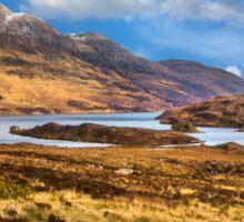 Highland Loch Sticker