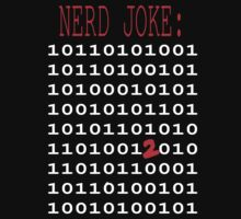 Binary Nerd Joke Kids Tee