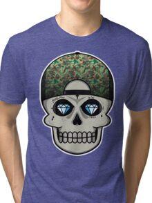 COOL SKULL Tri-blend T-Shirt