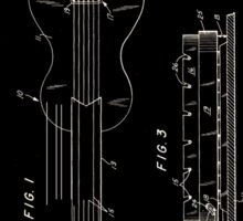 Gibson Les Paul Electric Guitar Patent 1962 Sticker