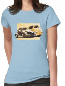 One Spirit - Bettle & Bus (only) Womens Fitted T-Shirt
