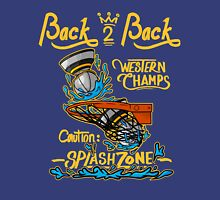 Warriors: Back 2 Back Western Conference Champs!  Unisex T-Shirt