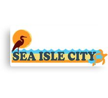 Sea Isle - New Jersey. Canvas Print