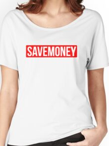Vic Mensa Save Money Logo  Women's Relaxed Fit T-Shirt