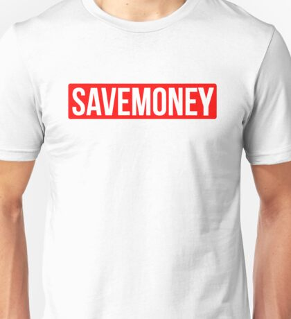 Vic Mensa Save Money Logo  Unisex T-Shirt