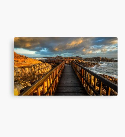 Canal Rocks Canvas Print