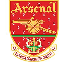 Old Arsenal Logo Photographic Print