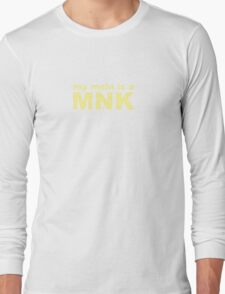 my main is a monk Long Sleeve T-Shirt