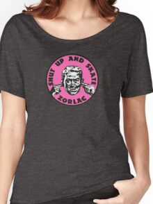 ZORLAC 80´S SKATEBOARDS (PINK) Women's Relaxed Fit T-Shirt