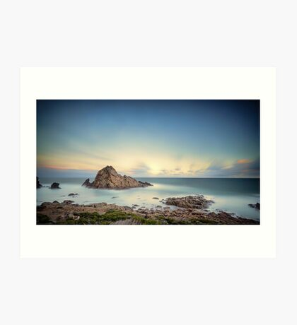 Sunrise at Sugarlofe Rock Art Print