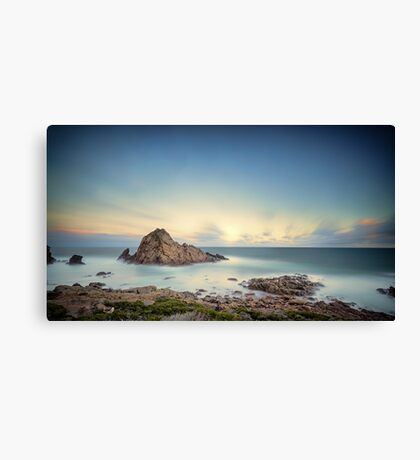 Sunrise at Sugarlofe Rock Canvas Print