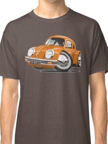 VW Beetle caricature orange Classic T-Shirt