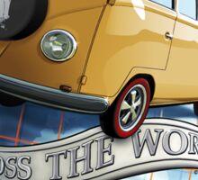 T1 Bus - Cross the World Sticker