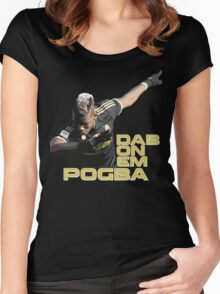 Dab PogBa Women's Fitted Scoop T-Shirt