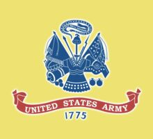 United States Army, American, ARMY, US, USA, 1775, Official flag, America,  Kids Tee
