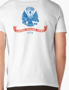United States Army, American, ARMY, US, USA, 1775, Official flag, America,  Mens V-Neck T-Shirt