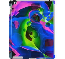 Psychedelic Trippy Abstract Pattern  iPad Case/Skin