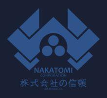 NAKATOMI PLAZA - DIE HARD BRUCE WILLIS (BLUE) Kids Tee