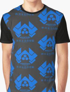 NAKATOMI PLAZA - DIE HARD BRUCE WILLIS (BLUE) Graphic T-Shirt