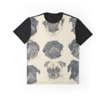 Multipugs Graphic T-Shirt