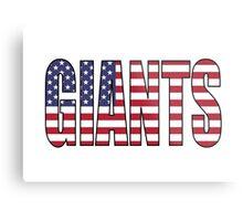 Giants Metal Print