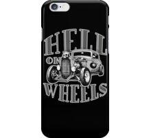 Hell on Wheels - Monotone iPhone Case/Skin