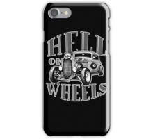 Hell on Wheels - Monotone iPhone Case/Skin