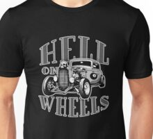 Hell on Wheels - Monotone Unisex T-Shirt
