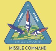 MISSILE COMMAND - ATARI COLD WAR Kids Tee