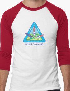 MISSILE COMMAND - ATARI COLD WAR Men's Baseball ¾ T-Shirt