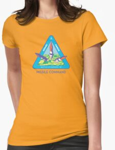 MISSILE COMMAND - ATARI COLD WAR Womens Fitted T-Shirt