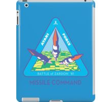 MISSILE COMMAND - ATARI COLD WAR iPad Case/Skin