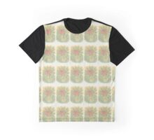 Vector Flower Graphic T-Shirt