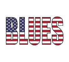 Blues Photographic Print