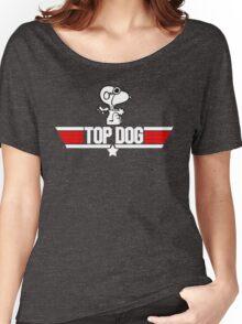TOP GUN - SNOOPY MAVERICK  Women's Relaxed Fit T-Shirt