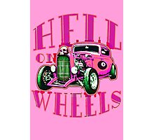 Hell on Wheels - Hot Pink Photographic Print